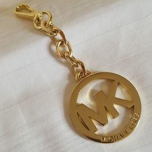 Michael Kors Gold Chunky Link Keychain